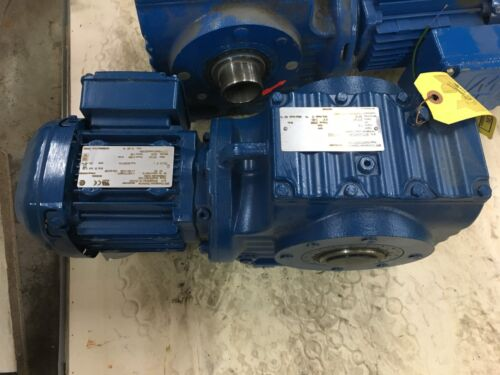 NEW NO BOX SEW-EURODRIVE GEAR MOTOR 217.41 RATIO SPEED REDUCER SA67DRS71S4