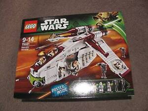 LEGO 75021 REPUBLIC GUNSHIP, NEW AND SEALED, RARE. Noosa Heads Noosa Area Preview