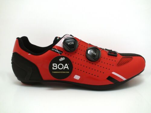 Crono CR-2   Nylon   Red   Road Bike Shoe   Multiple Sizes Available   Italy