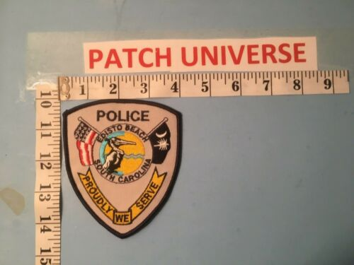 EDISTO BEACH  SC  POLICE  SHOULDER PATCH  Q027