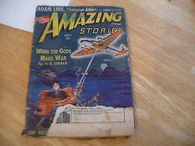 AMAZING STORIES  (PULP) - JULY 1940 - ADAM LINK STORY BY EANDO BINDER