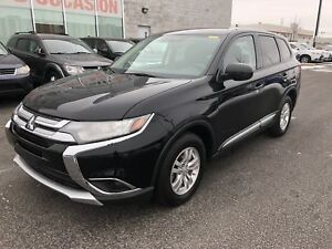 2017 Mitsubishi Outlander ES AWD CAMERA+MAGS+SIEGES CHAUFFANTS+C