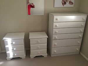 Bedside drawers, tallboy & lamps Beaumont Hills The Hills District Preview