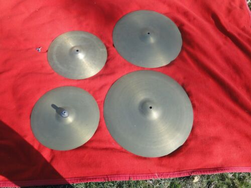Vintage Lot of 4 Avedis Zildjian Cymbals