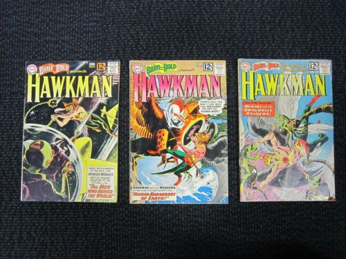 The Brave And The Bold #42, #43, #44 - 1962, Hawkman