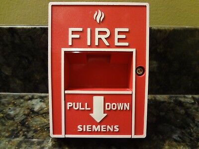 Siemens Ms-57 Pull Station Fire Alarm Free Shipping