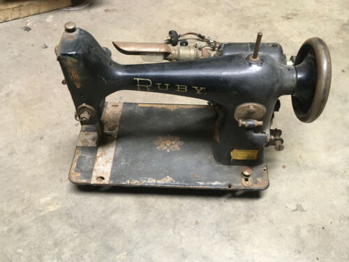 Old Ruby Sewing Machine Vintage Antique