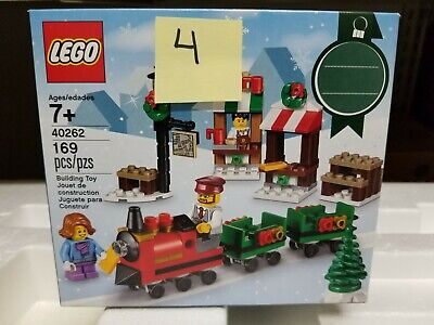 LEGO 40262 Christmas Train Ride NEW in BOX holiday seasonal IN HAND 2017 sealed