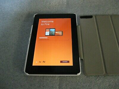 "Amazon Kindle Fire HD 7"" Screen - 8GB - 4th Generation - with Case"