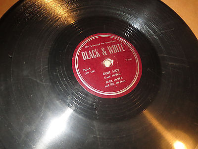 78RPM Black & White 750 Jack McVea, Ooh Mop / Bartender Boogie clean V