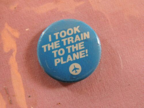 1960s NYCTA Train to the Plane New York City Transit Authority NYC Subway Button