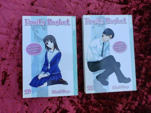 Fruits Basket Manga vols 20, 22, By Natsuki Takaya Rare