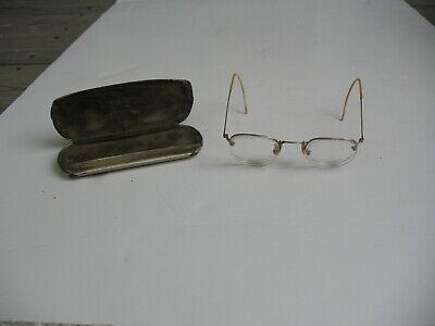 Antique Shuron Gold Rim Prescription Glasses 1/10 12K Gold Filled Moyer M.D. (Fill Eyeglass Prescription)