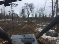 Land clearing and drive ways