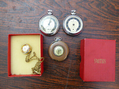 Vintage Pocket Watch collection, spares or repairs, Smiths etc..