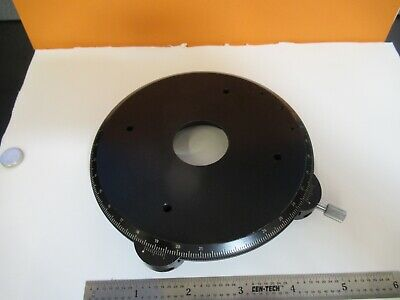 Carl Zeiss Germany Polarizer Stage Table Microscope Part As Pictured 1e-c-53