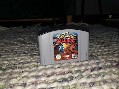 Pokemon Stadium Nintendo N64 Cartridge PAL *German*