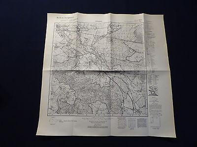 Landkarte Meßtischblatt 2654 Altdamm / Dąbie, Bez. Stettin, Pommern, von 1937