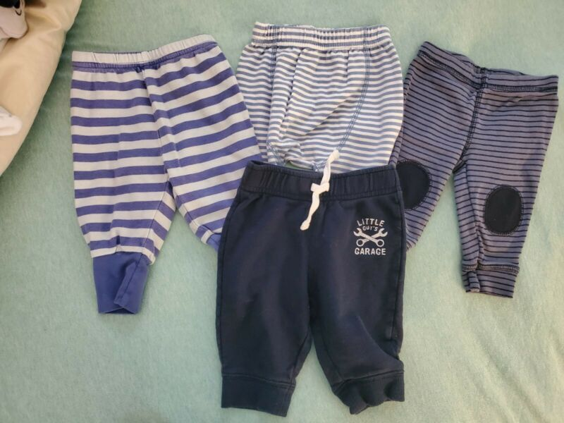0-3 Months Baby Boy Clothes Lot
