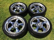 Genuine Rays Victrix 18in 5x114.3 Staggered - $300 Munno Para Playford Area Preview