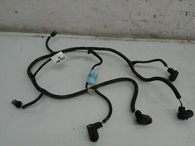 Opel Vectra C Cable Loom 4x Pdc Sensor Rear 24419054 12787793 Z20H 276125