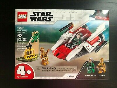 LEGO Star Wars 75247 Rebel A-Wing Starfighter Brand New Still Sealed