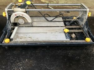 Mastercraft sliding wet saw