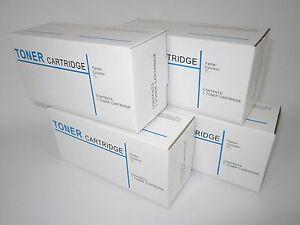 4 x FUJI XEROX COMPATIBLE TONER CM305D, CM305DF, CP305D, CT201632, CT201633/4/5
