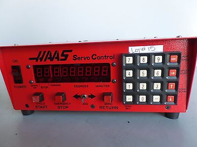 Software-37 Brush 17 Pin Haas Control Box Sco1m Rotary Table Indexer Inv.15 Lms