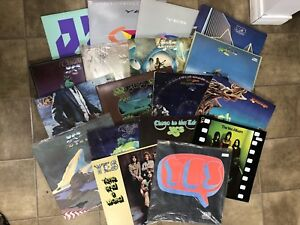 YES LP collection 18 records