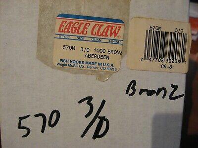 1000 Matzuo 149040 Gold Sickle Jig Hooks for Molds
