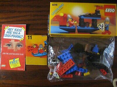 LEGO Castle 6018 Battle Dragon 100% Complete w/ Box, Instructions & Guide