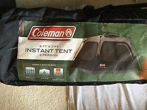 Coleman 4 person Tent