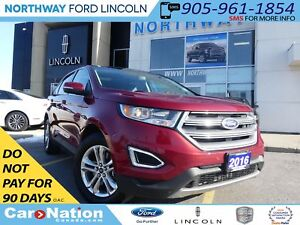 2016 Ford Edge SEL | NAV | REAR CAM | PANO ROOF | LEATHER |
