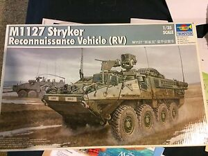 1/35 Scale M1127 Stryker Reconnance vehicle RV