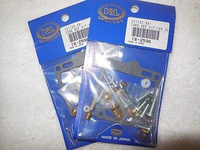 2 carb kits 88-99 XV1100 Virago Yamaha K&L Pro kit mikuni carburetor 18-2596