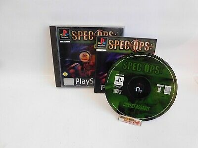 Spec Ops: Covert Assault (Sony PlayStation 1, 2001) Sony Covert