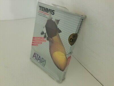 Nuevo Con/Aplastado Pequeño Caja Precintado Tenis Cartucho Para Atari 400/800/