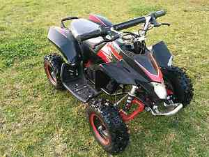 As New * ATV QUAD Bike + Free Helmet 500W Electric Auto Motor St Andrews Campbelltown Area Preview