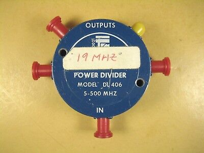 Trm Power Divider Model Dl 406 5-500 Mhz