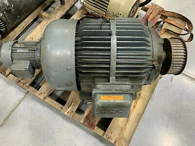Brown Boveri 28.8hp Electric Motor 3-phase 2920rpm