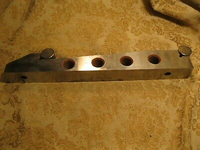 Vintage Large Precision Sine Bar 10 Machinist Tool