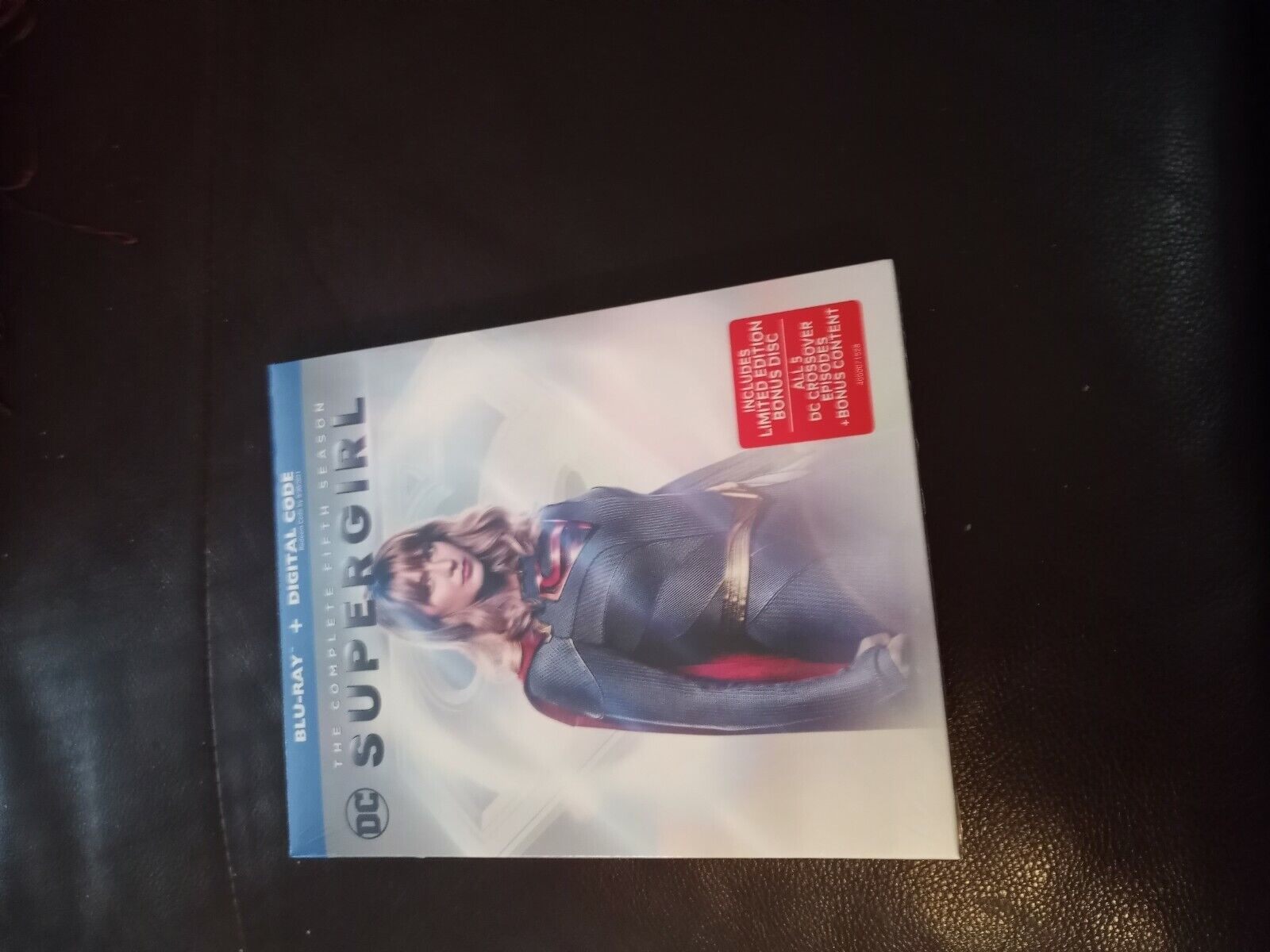 Supergirl The Complete Fifth Season 5 Blu-ray With Slipcover NO DIGITAL  - $18.99