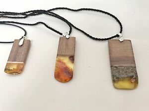 Unique natural amber pendants Balmain Leichhardt Area Preview
