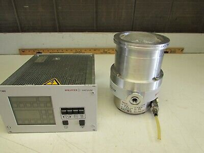 Pfeiffer Tmh-260 Turbo Molecular Pump W Tcp-380 Controller Xlnt Used Takeout