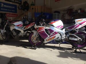 2 Yamaha YZF 750R in Beautiful condition + my project bike.