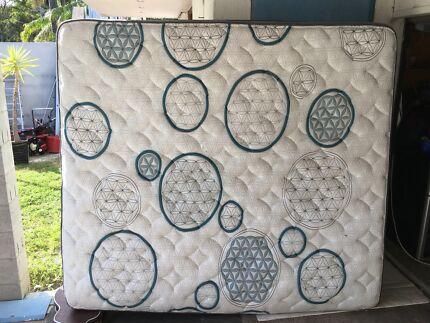 KING KOIL king size mattress pillow top