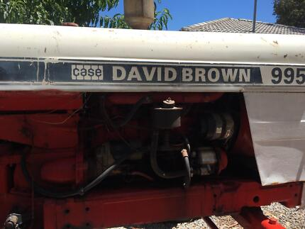 David Brown 995 Tractor Aldinga Beach Morphett Vale Area Preview
