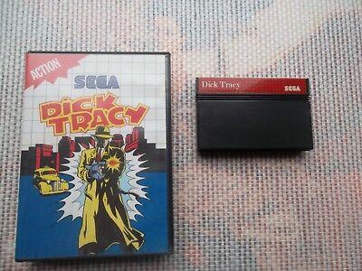 Jeu Master system / Ms Game Dick Tracy + boite PAL retrogaming SEGA original*
