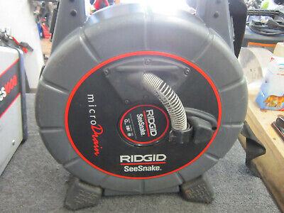 Ridgid Seesnake Micro Drain Color Sewer Camera 40 Ft